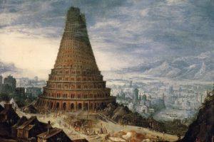 Počátky světových jazyků odvozujeme od stavby Babylonské věže