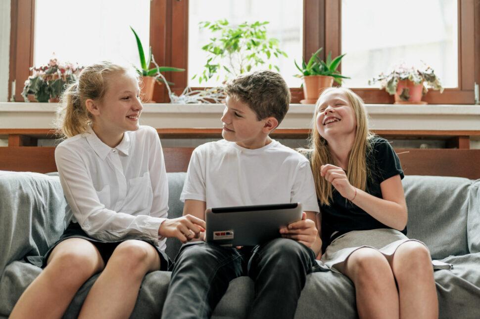 studenti TG vaule, komunikace, zábava